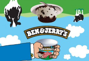 ben & jerrys flipped out