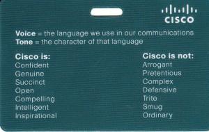 cisco brand is is not