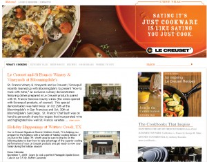 le creuset home page