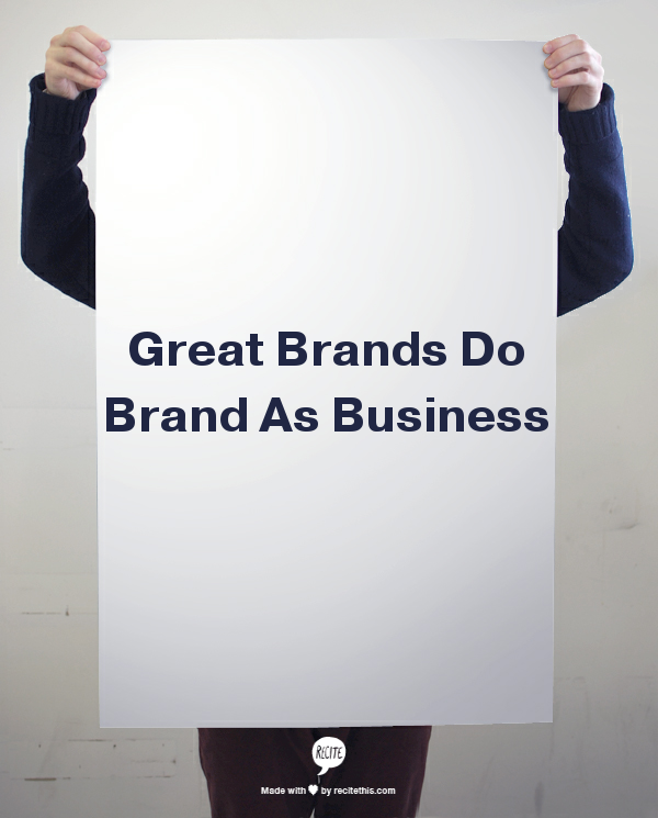 do brand as business