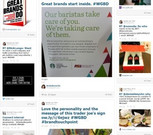 #WGBD great brands collage