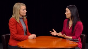 harvard business review editor sarah green interviews denise lee yohn