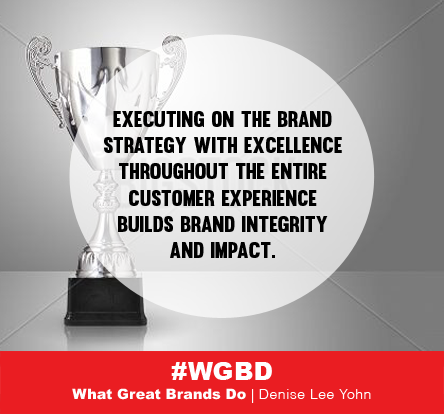 executing on brand strategy throughout customer experience