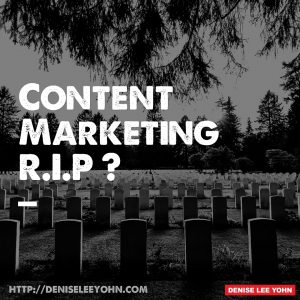 content marketing rip