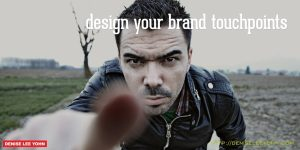 design your brand touchpoints