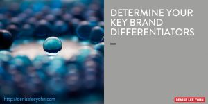 key brand differentiators