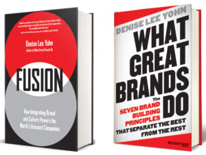 What Great Brands Do and FUSION books